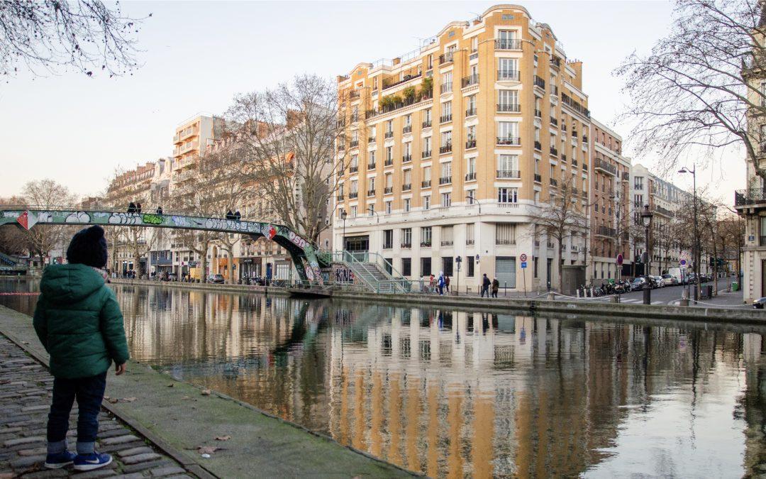 PARIS   Along the Canal Saint Martin